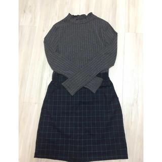 レイカズン(RayCassin)のチェック 台形スカート(ミニスカート)