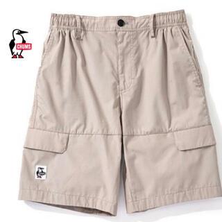 チャムス(CHUMS)の新品タグ付き CHUMS カーゴ ハーフ パンツ Mサイズ 定価6940円(ショートパンツ)