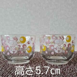 スヌーピー(SNOOPY)のスヌーピー 冷茶グラス コップ 2客(グラス/カップ)