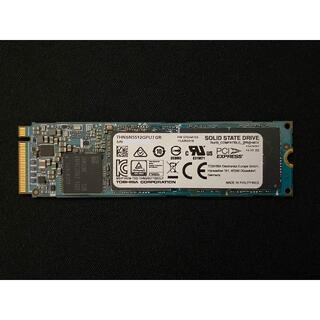 トウシバ(東芝)の東芝 512GB SSD THNSN5512GPU7 M.2 Type 2280(PCパーツ)