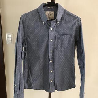 アバクロンビーアンドフィッチ(Abercrombie&Fitch)のアバクロ Abercrombie & Fitch MUSCLE メンズ長袖シャツ(Tシャツ/カットソー(七分/長袖))