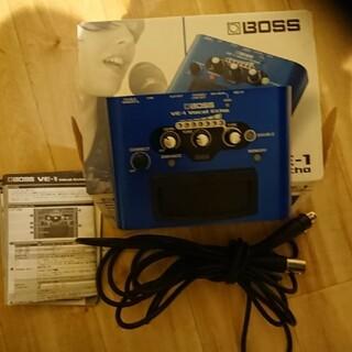 ボス(BOSS)のBOSS VE-1 vocal Echo(その他)