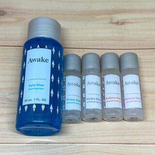 アウェイク(AWAKE)のアウェイク 化粧水・美容液サンプルセット(サンプル/トライアルキット)