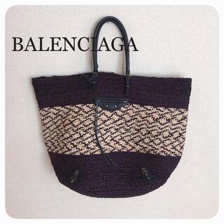 バレンシアガ(Balenciaga)のバレンシアガ *かごバッグ(ロエベ、ルイヴィトン、セリーヌ、プラダ、グッチ(かごバッグ/ストローバッグ)
