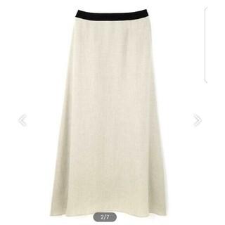 ADORE - GW値下げ☆ADORE アドーア サーブルアセテートラップ風フレアースカート