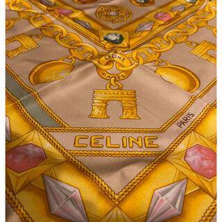 celine - セリーヌ シルク100% スカーフ