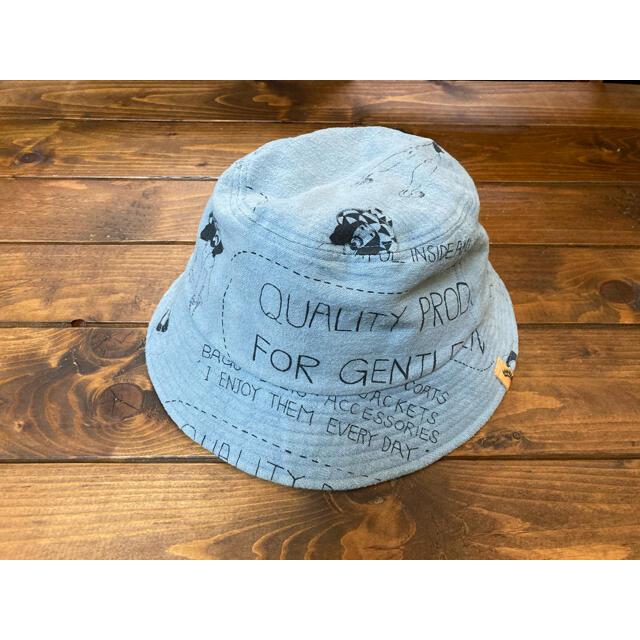 VISVIM(ヴィスヴィム)の16ss visvim DOME BUCKET QUALITY PRODUCTS メンズの帽子(ハット)の商品写真