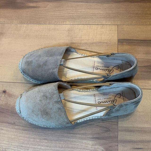 UNITED ARROWS(ユナイテッドアローズ)の美品 GAIMO セパレートエスパドリーユサンダル レディースの靴/シューズ(サンダル)の商品写真