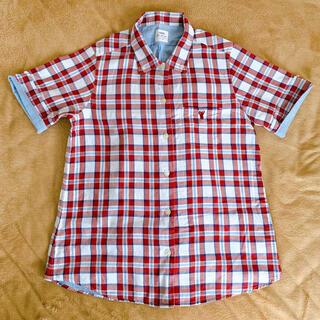 コーエン(coen)のレディース 半袖チェックシャツ(シャツ/ブラウス(半袖/袖なし))