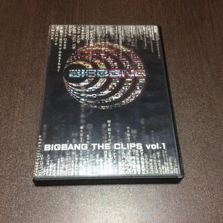 ビッグバン(BIGBANG)のBIGBANG/THE CLIPS vol.1  DVD(ミュージック)