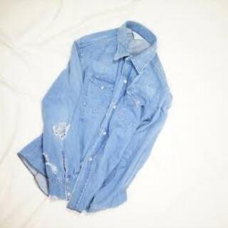 アンユーズド(UNUSED)のUNUSED アンユーズド デニムシャツ US1441 新品 正規品 即完売(シャツ)