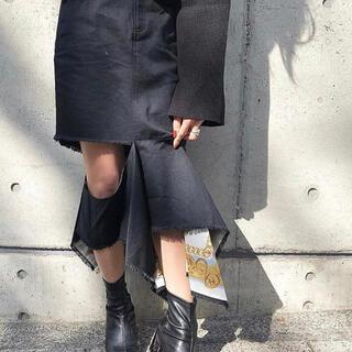 アメリヴィンテージ(Ameri VINTAGE)のEDITTA FLIP SKIRT(ひざ丈スカート)
