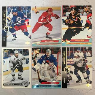 NHL『90年代 名ファイター カード 6枚 セット』【中古】(スポーツ選手)