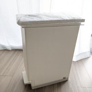 【売却予定しましまくるみさん】ゴミ箱 45L ペダル ユニード プッシュ&ペダル(ごみ箱)