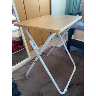 ニトリ - 折りたたみ式テーブル