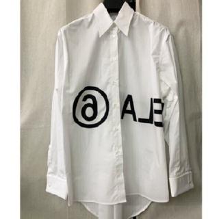 マルタンマルジェラ(Maison Martin Margiela)の希少 入手困難 メゾンマルジェラ ホワイトシャツ 38(シャツ/ブラウス(長袖/七分))