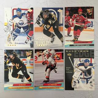NHL『90年代 チェコ人 名プレーヤー カード 6枚 セット』【中古】(スポーツ選手)