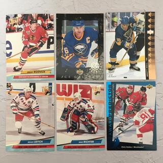 NHL『90年代 アメリカ人 名プレーヤー カード 6枚 セット』【中古】(スポーツ選手)