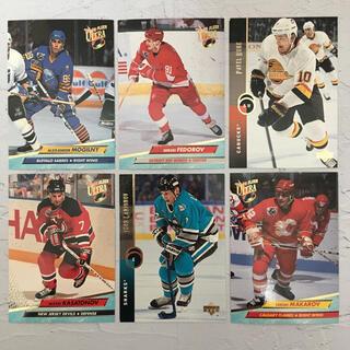 NHL『90年代 ロシア人 名プレーヤー カード 6枚 セット』【中古】(スポーツ選手)