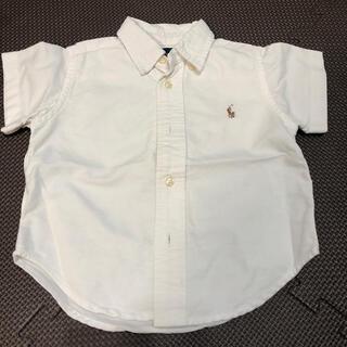 ポロラルフローレン(POLO RALPH LAUREN)のラルフローレン  半袖シャツ 80(シャツ/カットソー)