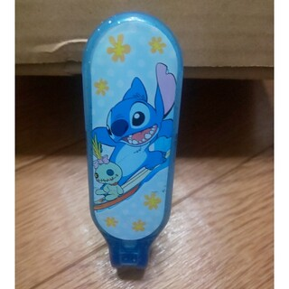 ディズニー(Disney)のstitch 折り畳み ヘアブラシ ミラー(ヘアブラシ/クシ)