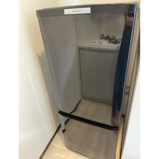 ミツビシデンキ(三菱電機)の三菱 2ドア 冷蔵庫 5月15日発送 限定価格(冷蔵庫)