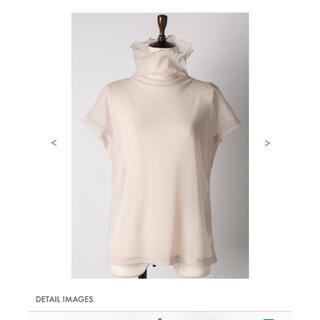 ラベルエチュード(la belle Etude)のラベルエチュード 半袖チュールタートル(カットソー(半袖/袖なし))