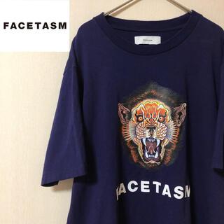 ファセッタズム(FACETASM)の【程度良好!】FACETASM ビッグロゴプリント パープル 半袖Tシャツ 5(Tシャツ/カットソー(半袖/袖なし))
