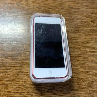 アイポッドタッチ(iPod touch)のiPod touch 6世代 128GB Red(ポータブルプレーヤー)