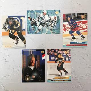 NHL『歴代 ポイント ランキング トップ5 レジェンド カード』レア品【中古】(スポーツ選手)