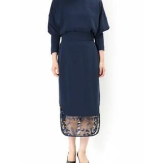 マメ(mame)の新品 マメ レーススカート 1(ロングスカート)