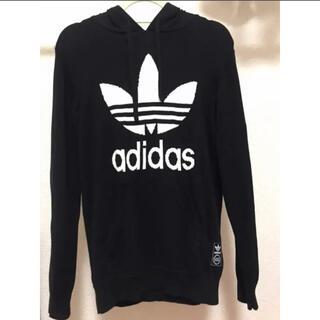アディダス(adidas)のadidas(アディダス)フード付きセーター メンズM(ニット/セーター)
