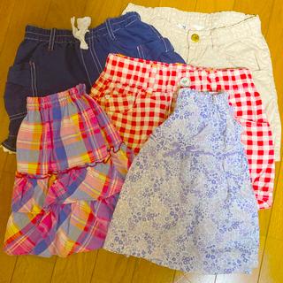 マザウェイズ(motherways)の女子スカート 120cm 2枚セット(スカート)
