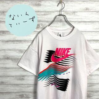 ナイキ(NIKE)の【入手困難】ナイキ AIRMAX カラフル センターロゴ ビックサイズ Tシャツ(Tシャツ/カットソー(半袖/袖なし))