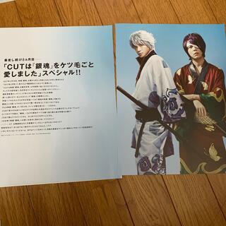 銀魂 雑誌の切り抜き 5枚(音楽/芸能)
