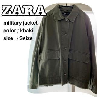 ザラ(ZARA)のミリタリージャケット ザラ ZARA zara(ミリタリージャケット)