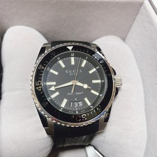 グッチ(Gucci)のgucci ダイヴ ウォッチ YA136204 腕時計(腕時計(アナログ))