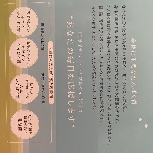 シャルレ(シャルレ)のシャルレ たんぱく質 食品/飲料/酒の健康食品(その他)の商品写真