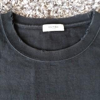 エディション(Edition)のエディションダメージ加工TシャツLサイズ(シャツ)