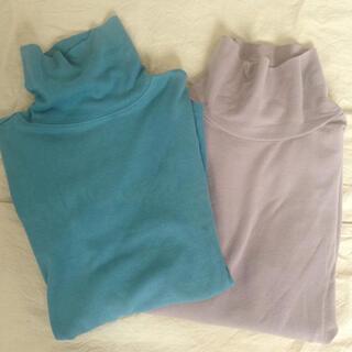 ハイネックシャツ2枚セット(Tシャツ(長袖/七分))