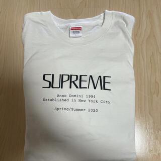 シュプリーム(Supreme)のsupreme 20ss Anno Domini Tee(Tシャツ/カットソー(半袖/袖なし))