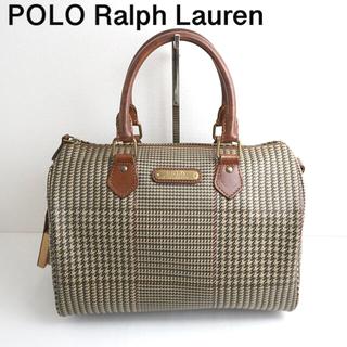 POLO RALPH LAUREN - POLO Ralph Lauren 千鳥柄 ミニボストン バッグ