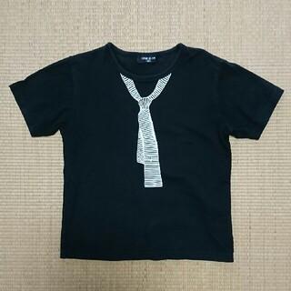 コムサイズム(COMME CA ISM)のコムサイズム Tシャツ 130cm ブラック(Tシャツ/カットソー)