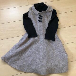 セリーヌ(celine)の38 女の子110から120程度本物セリーヌの長袖カットソーおまけワンピース(Tシャツ/カットソー)