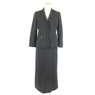 コムサデモード(COMME CA DU MODE)のコムサデモード BOTTO GIUSEPPE スカートスーツ 黒 9 7(スーツ)