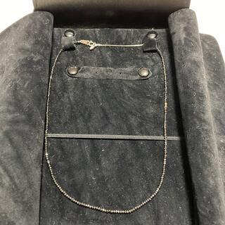 ジュエリーツツミ(JEWELRY TSUTSUMI)のブラックダイヤモンド ネックレス(ネックレス)