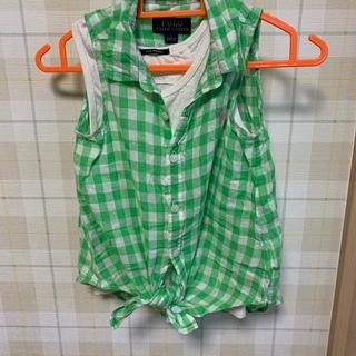 ポロラルフローレン(POLO RALPH LAUREN)のラルフローレン ノースリーブシャツ FITHキャミセット(ブラウス)