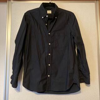 バックナンバー(BACK NUMBER)のbacknumber ボタンダウンシャツ 黒(シャツ)