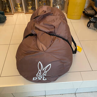 ドッペルギャンガー(DOPPELGANGER)のDODわがやのシュラフ 一回使用 美品(寝袋/寝具)