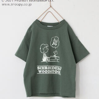 ローリーズファーム(LOWRYS FARM)のスヌーピーのTシャツ(Tシャツ/カットソー)